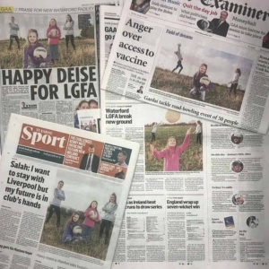 Press Coverage of Waterford Ladies' Football Field Development Project